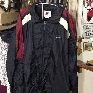 Nike track jacket light weight